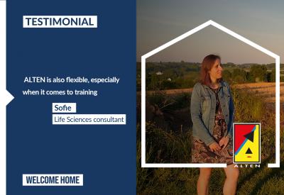 Sofie's testimonial [Life Siences]