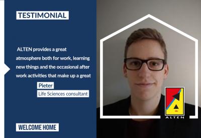 Pieter 's testimonial [Life Sciences]