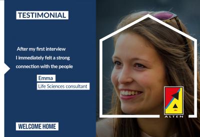 Emma's testimonial [Life Sciences]