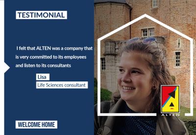 Lisa's testimonial [Life Sciences]