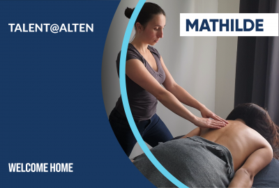 Talent@ALTEN: Mathilde, from industrial pharmacist to relaxing massage